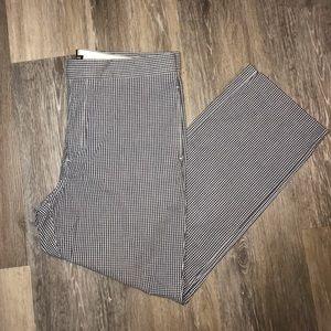 Ralph Lauren Womens 14 Black Checkered Pant ❤️